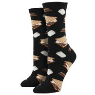 Socksmith Women's Want S'more Crew Sock
