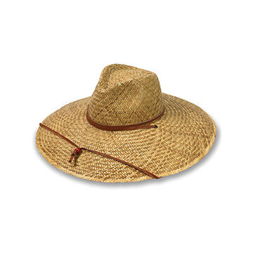 Broner Mens Ultimate Big Brim Lindu Straw Sun Hat