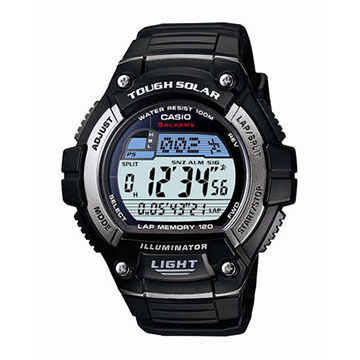 Casio WS220-1BV Athlete's Solar-Power Sports Watch