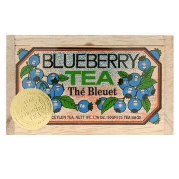 Metropolitan Blueberry Tea Soft Wood Chest, 25-Bag