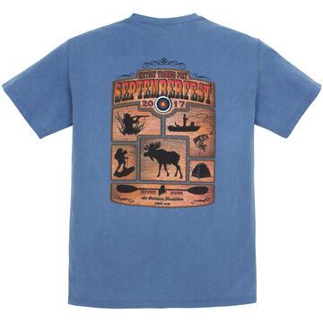 Original Design Men's Kittery Trading Post Septemberfest 2017 Short-Sleeve T-Shirt