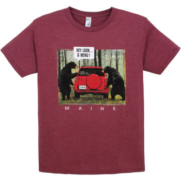 The Duck Co. Mens Bear Menu Short-Sleeve T-Shirt