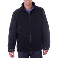 Maxxsel Men's Heavyweight Military Full-Zip Fleece Jacket