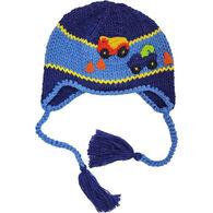 Huggalugs Infant/Toddler Boy's Trucker Earflap Beanie Hat