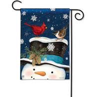 BreezeArt Winter Is Here Garden Flag