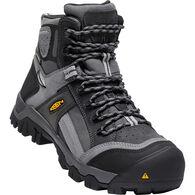 """Keen Men's Davenport 6"""" Insulated CT Waterproof Work Boot, 400g"""