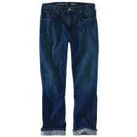 Carhartt Men's Rugged Flex Relaxed Fit Straight Leg Flannel-Lined Jean