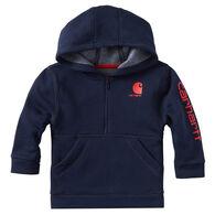 Carhartt Infant/Toddler Boys' Half Zip Sweatshirt