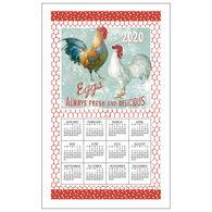 Kay Dee Designs 2020 Farm Nostalgia Calendar Towel
