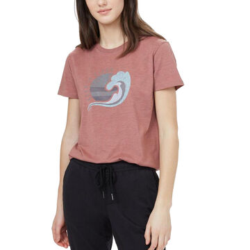 tentree Womens Keep It Clean Short-Sleeve T-Shirt