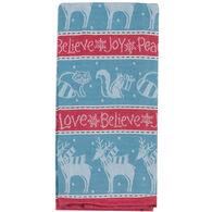 Kay Dee Designs Woodland Christmas Jacquard Tea Towel