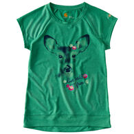 Carhartt Girl's Live Wild And Free Force Short-Sleeve T-Shirt