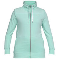Under Armour Women's UA Microthread Shoreline Terry Full Zip Sweatshirt