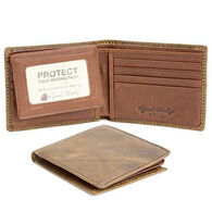 Osgoode Marley Men's RFID Passcase Distressed Leather Wallet