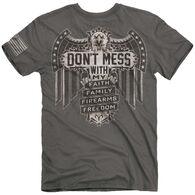 Buck Wear Men's Don't Mess Short-Sleeve T-Shirt