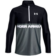 Under Armour Boys' UA Tech 1/2 Zip Long-Sleeve Shirt