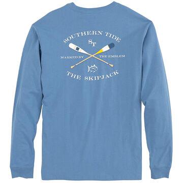Southern Tide Mens Oars Long-Sleeve Shirt