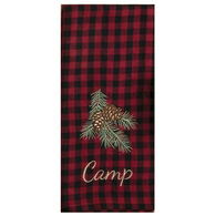 Kay Dee Designs Woodland Camp Embroidered Tea Towel
