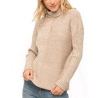 Mystree Women's Turtle Neck Sweater