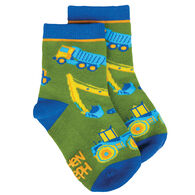 Stephen Joseph Toddler Construction Sock