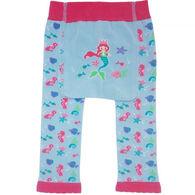 Huggalugs Infant/Toddler Girls' Mermaid Knit Pant
