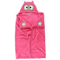 Lazy One Kids Owl Critter Hooded Blanket
