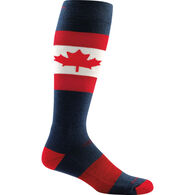 Darn Tough Vermont Men's O Canada Over-the-Calf Light Cushion Ski/Ride Sock