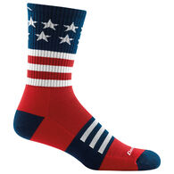 Darn Tough Vermont Men's Captain Stripe Light Cushion Micro Crew Sock