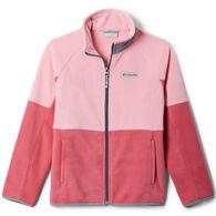Columbia Girl's Basin Trail Branded Full Zip Fleece Jacket