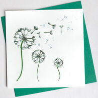 Quilling Card Dandelion Everyday Card