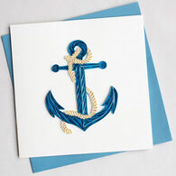 Quilling Card Anchor Everyday Card