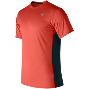 New Balance Mens Accelerate Short-Sleeve T-Shirt