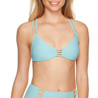 Sol Collective Women's Solid Bralette Swimsuit Top