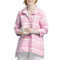 Habitat Women's Island Stripe Drop Tail Tunic Shirt