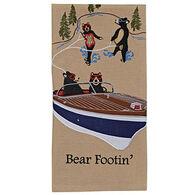 Park Designs Bear Footin Dish Towel