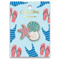 Cape Shore Enamel Shell Pin