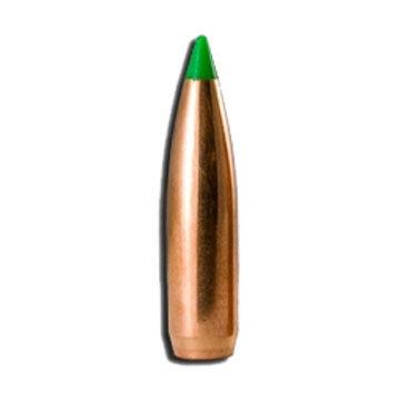 "Nosler Ballistic Tip 30 Cal. 165 Grain .308"" Spitzer Point / Green Tip Rifle Bullet (50)"