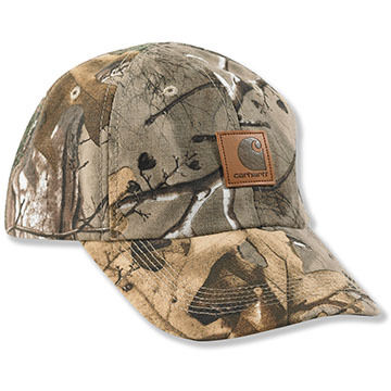 Carhartt Boys & Girls Camo Duck Cap