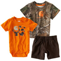 Carhartt Infant/Toddler Boys' Camo Set, 3pc