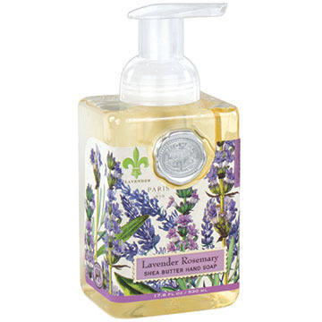 Michel Design Works Lavender Rosemary Foaming Hand Soap, 17.8 oz.