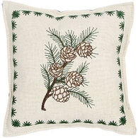 "Paine Products 7"" x 7"" Pinecone Balsam Pillow"