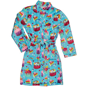Candy Pink Girls' Crazy Cupcakes Fleece Robe