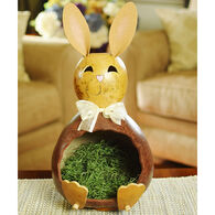 Meadowbrooke Gourds Chester Bunny Large Candy Dish Gourd
