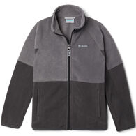 Columbia Boy's Basin Trail Branded Full Zip Fleece Jacket