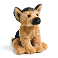 DEMDACO German Shepherd Beanbag Stuffed Animal