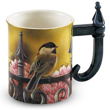 Wild Wings Backyard Beauty Chickadee Sculpted Mug