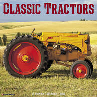 Willow Creek Press Classic Tractors 2018 Wall Calendar