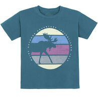 Lakeshirts Youth Koolio Moose Short-Sleeve T-Shirt