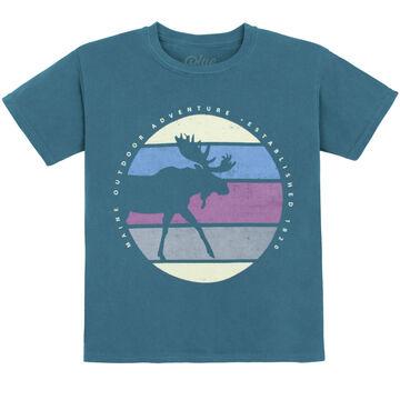 Lakeshirts Youth Koolio Moose Short-Sleeve T-Shirt