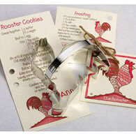 Ann Clark Tin Cookie Cutter - Rooster